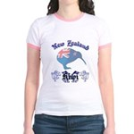 Classic New Zealand Kiwi Jr. Ringer T-Shirt