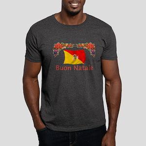 Sicily Buon Natale Dark T-Shirt