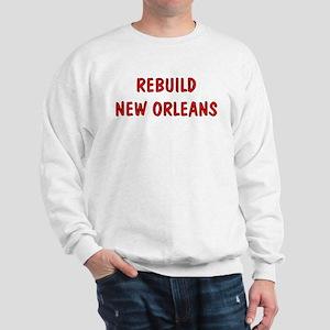 Luv New Orleans Rebuild Sweatshirt