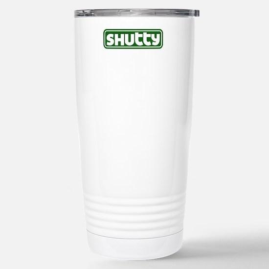 Shutty Stainless Steel Travel Mug