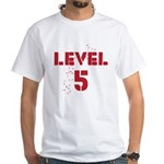 Level 5 White T-Shirt
