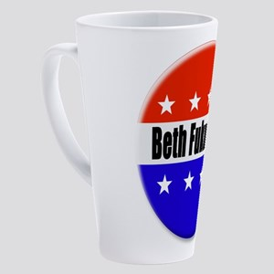 Beth Fukumoto 17 oz Latte Mug