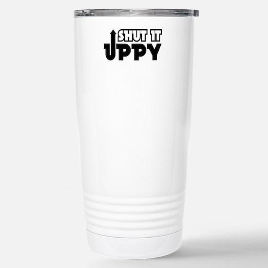 Shut It Uppy Stainless Steel Travel Mug