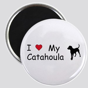 I Love My Catahoula Magnet