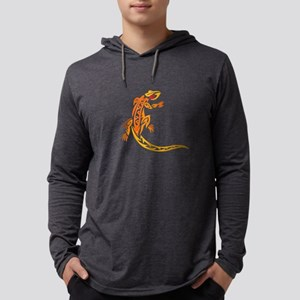 lizard_1 orange 8x7_ Long Sleeve T-Shirt