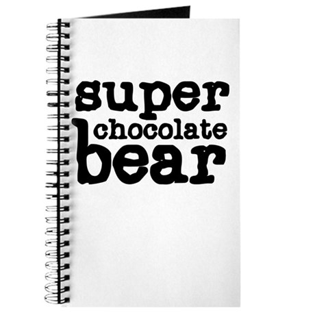 Super Chocolate Bear Journal
