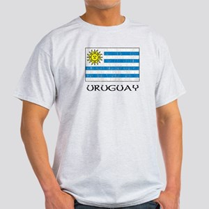 Uruguay Flag Light T-Shirt