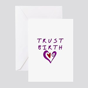 Trust Birth Greeting Cards (Pk of 10)