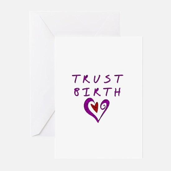 Trust Birth Greeting Cards (Pk of 10)