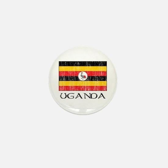 Uganda Flag Mini Button