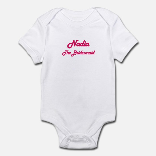 Nadia - The Bridesmaid Infant Bodysuit