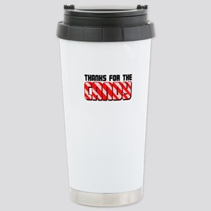 Thanks For The Candy Stainless Steel Travel Mug