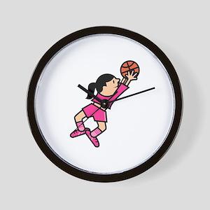 She Jumps! Wall Clock