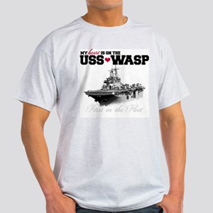 USS Wasp (Heart) Light T-Shirt