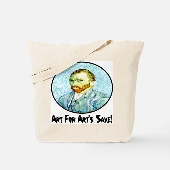 Van Gogh Art For Art's Sake Tote Bag