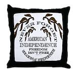 Veterans Memorial USA Throw Pillow