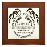 Veterans Memorial USA Framed Tile