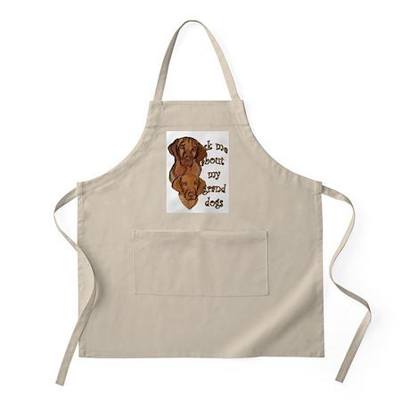Vizsla Granddogs BBQ Apron