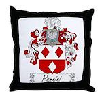 Pannini Family Crest Throw Pillow