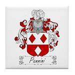 Pannini Family Crest Tile Coaster