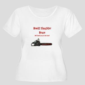 Hewitt Slaughter House Women's Plus Size Scoop Nec