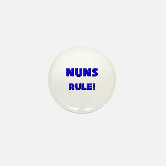 Nuns Rule! Mini Button