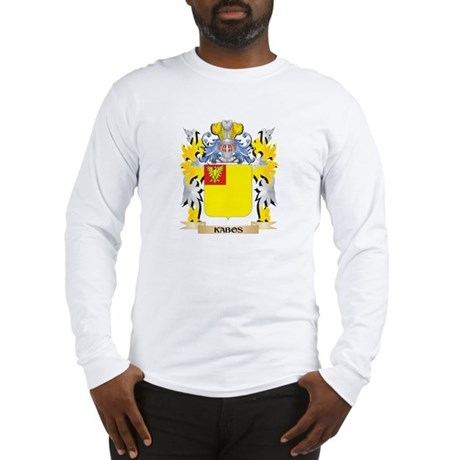 Kabos Coat of Arms - Family Cr Long Sleeve T-Shirt