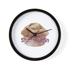 Distressed Vintage Stud Muffi Wall Clock