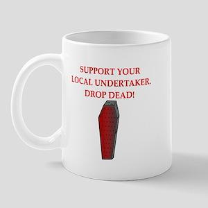 drop dead halloween Mug