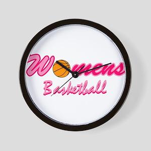 Womens Basketball Wall Clock
