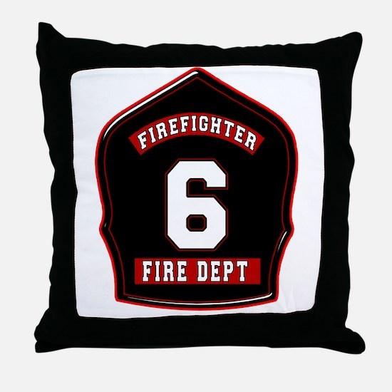 FD6 Throw Pillow