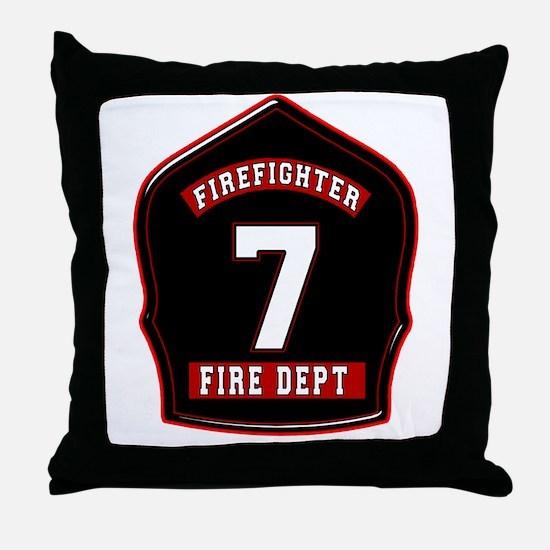FD7 Throw Pillow