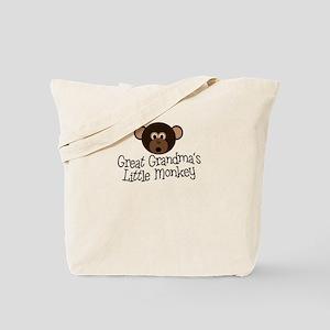 Great Grandma's Monkey B Tote Bag