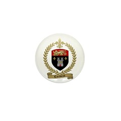 CARIVEAU Family Crest Mini Button