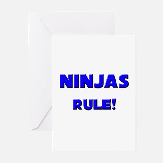 Ninjas Rule! Greeting Cards (Pk of 10)