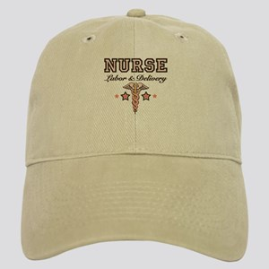 Labor & Delivery Nurse Caduceus Cap