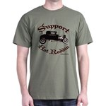 Dark T-Shirt-SUPPORT HOT RODDIN