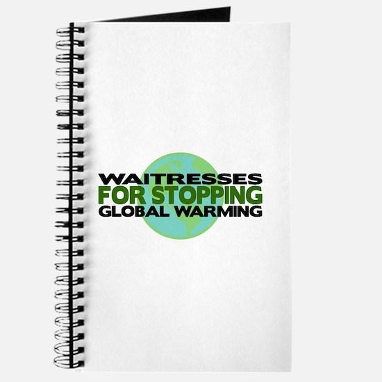 Waitresses Stop Global Warming Journal