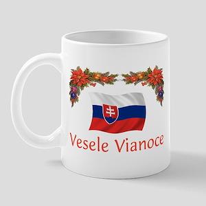 Slovak Vesele Vianoce(New) Mug