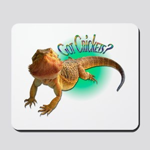 Bearded Dragon Got Crickets 5 Mousepad