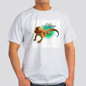 Bearded Dragon Got Crickets 5 Light T-Shirt