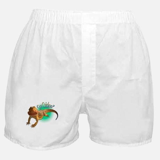 Bearded Dragon Got Crickets 5 Boxer Shorts