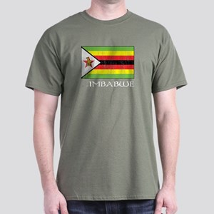 Zimbabwe Flag Dark T-Shirt