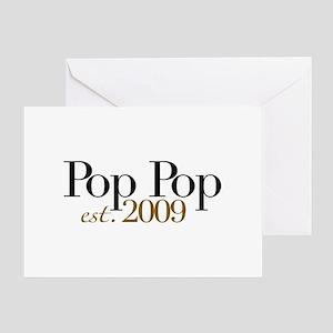 New Pop Pop 2009 Greeting Card