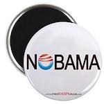 """Nobama '08"" 2.25"" Magnet (100)"