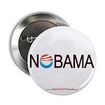 """""""Nobama '08"""" 2.25"""" Button (100)"""