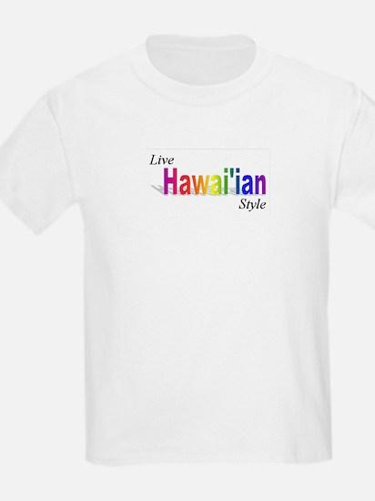 Live Hawaiian Style T-Shirt