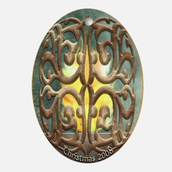 Ori Gater Oval Ornament
