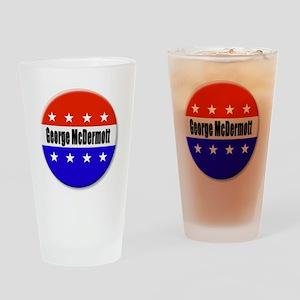 George McDermott Drinking Glass