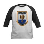 USS COOK Kids Baseball Jersey
